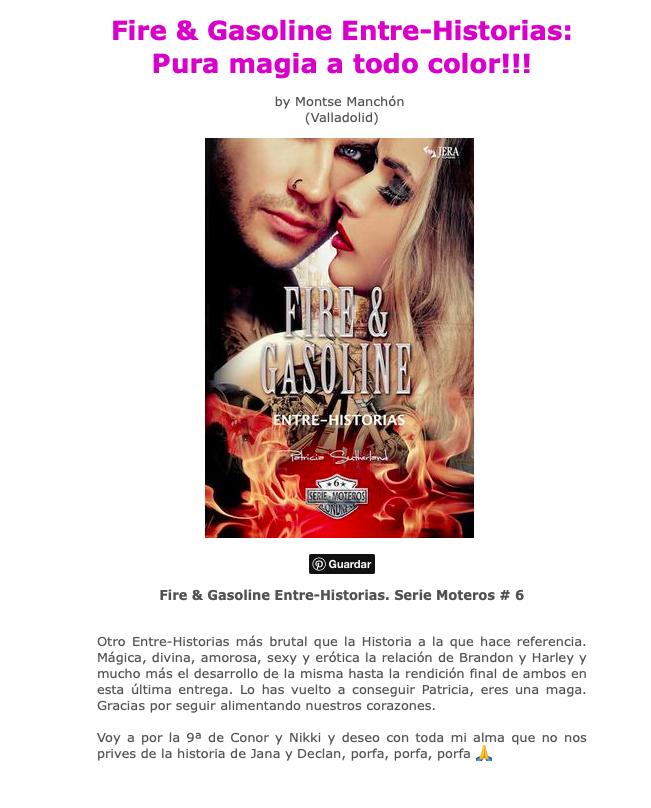 Novela romantica Momentos Especiales - Evel & Abby. Opinión de Marianela.