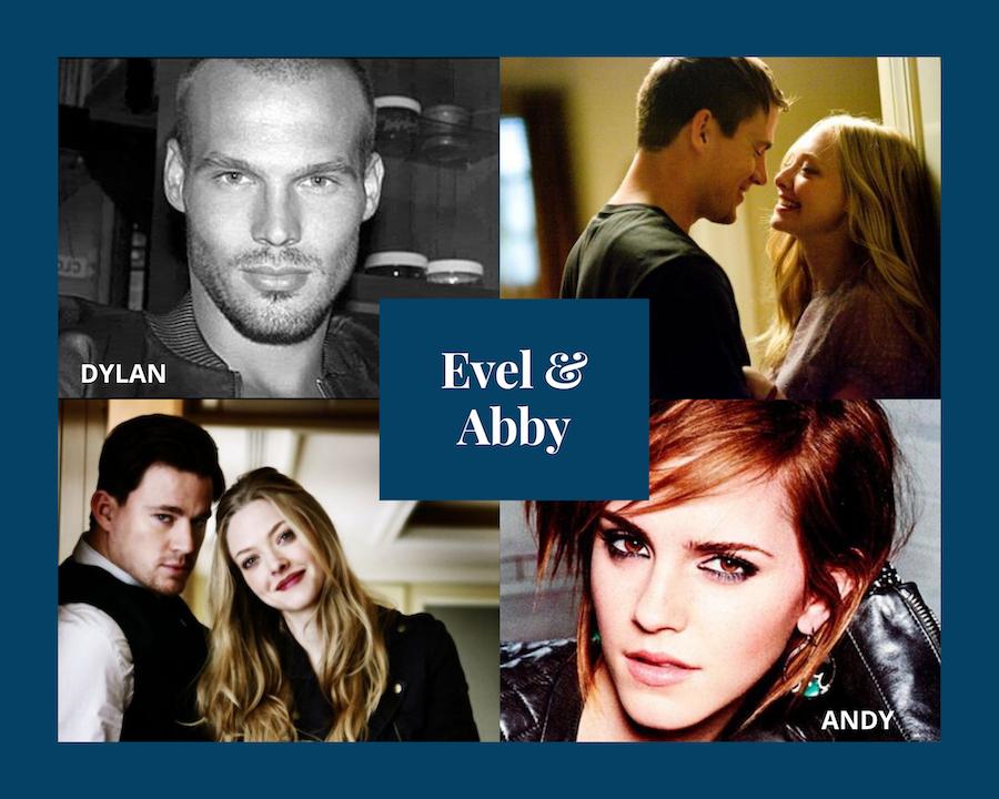 Momentos Especiales - Evel & Abby. Extras Serie Moteros # 8. 3ª pareja invitada.