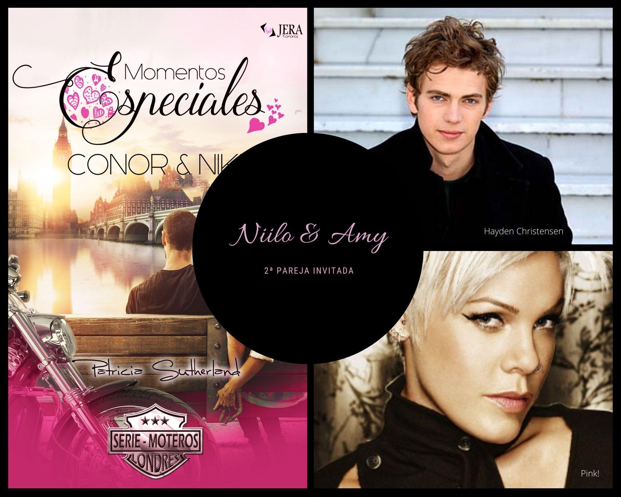 Momentos Especiales - Conor & Nikki. 2ª Pareja invitada: Niilo y Amy.