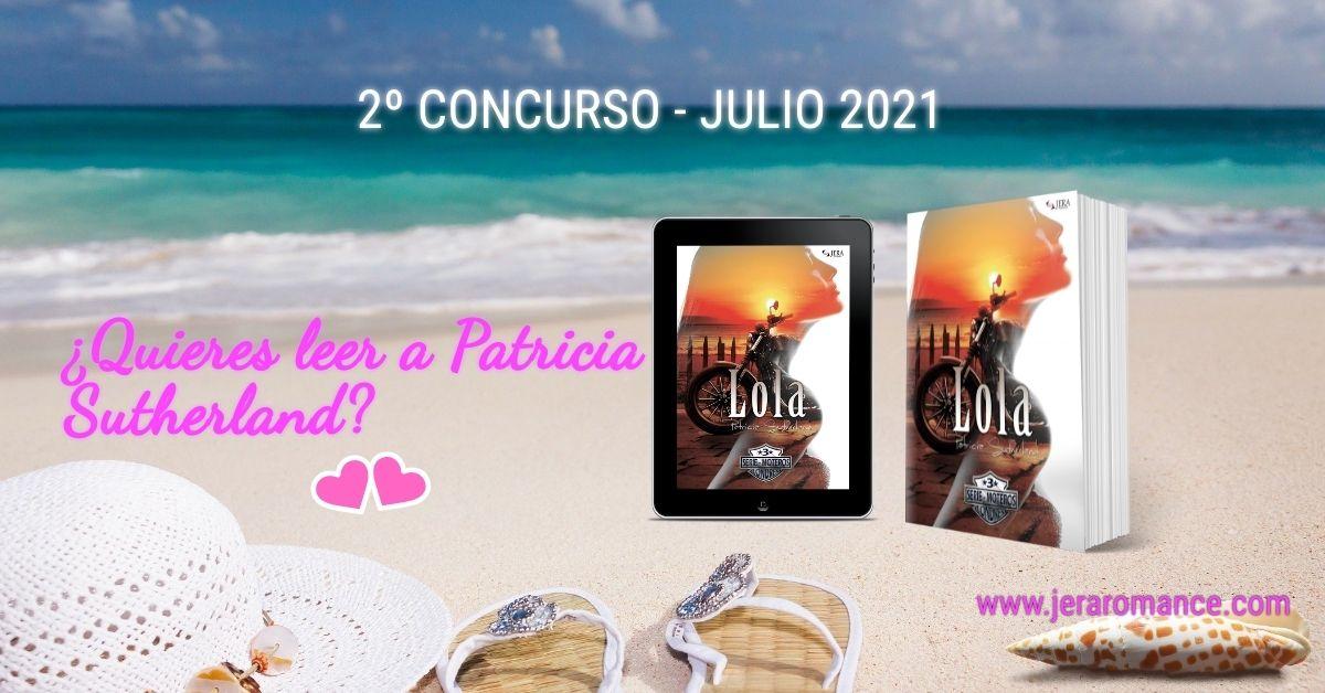 «Quiero Leer a Patricia Sutherland» - 2º Concurso Internacional Julio 2021