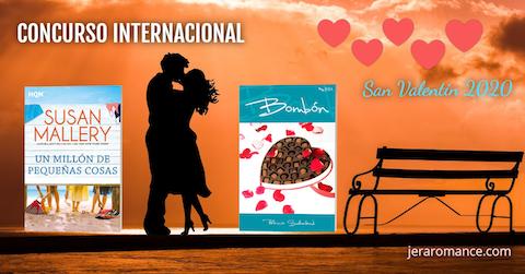 Concurso Internacional Jera Romance - San Valentín 2020, organizado por la autora romántica Patricia Sutherland.