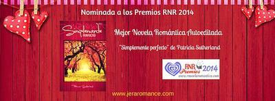 Simplemente perfecto, nominada a los Premios RNR 2014.